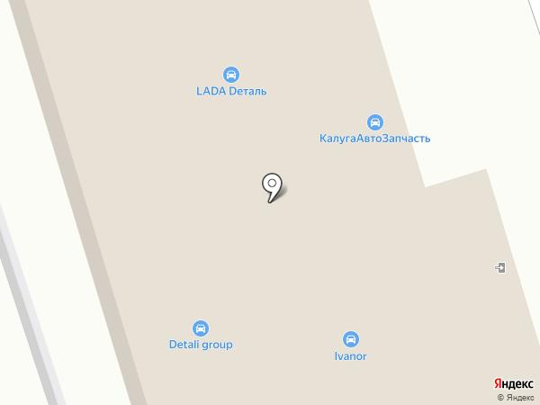 Деталия на карте Калуги