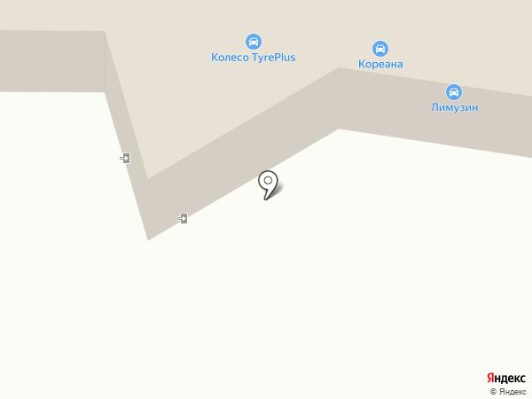 Лимузин на карте Калуги