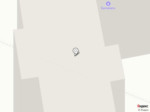 Бульваръ на карте Калуги