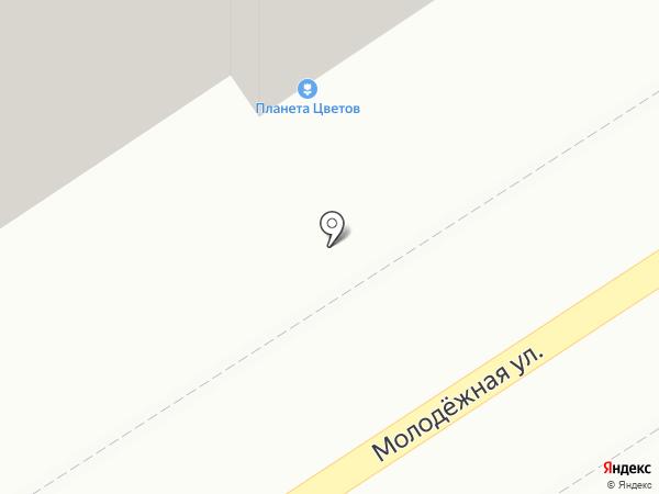 Гномик на карте Калуги