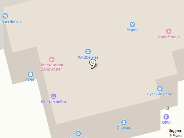 Букварёнок на карте Калуги
