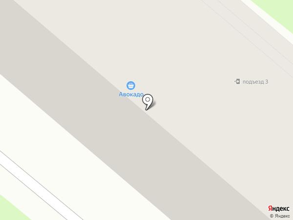 Ольговка, участковый пункт полиции на карте Калуги