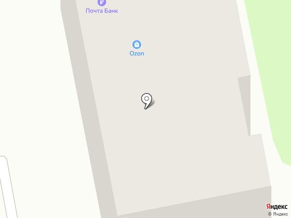 Почтовое отделение №28 на карте Калуги