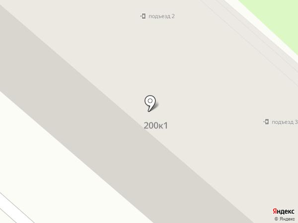 Рябинка на карте Калуги
