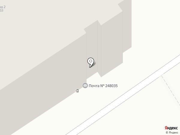 Почтовое отделение №35 на карте Калуги