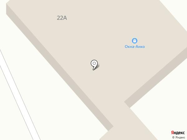 ОКНА-АНКО на карте Калуги