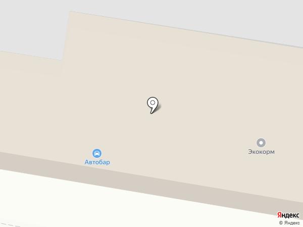 Автосервис на Советской на карте Калуги