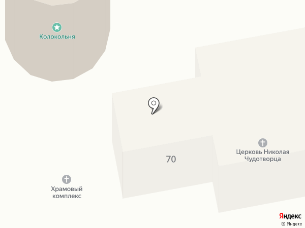 Церковь Николая Чудотворца на карте Грабцево