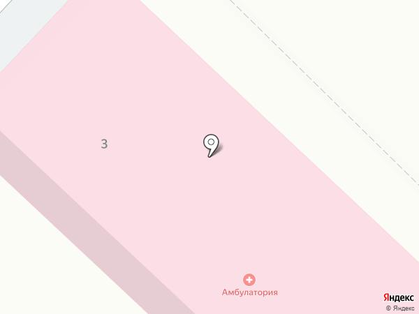 Майская врачебная амбулатория на карте Майского