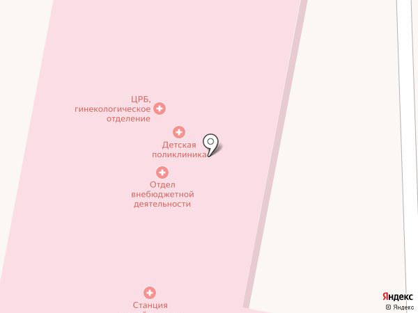 Скорая медицинская помощь на карте Стрелецкого