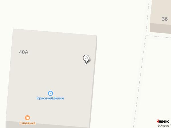 Славянка, ЗАО на карте Стрелецкого