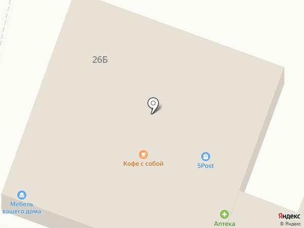 Пятёрочка на карте Стрелецкого