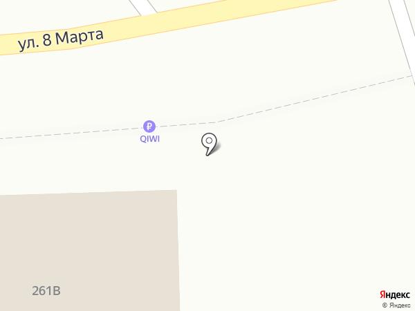 Криница на карте Белгорода