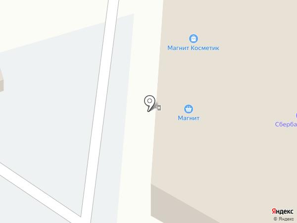 Острог на карте Дубового