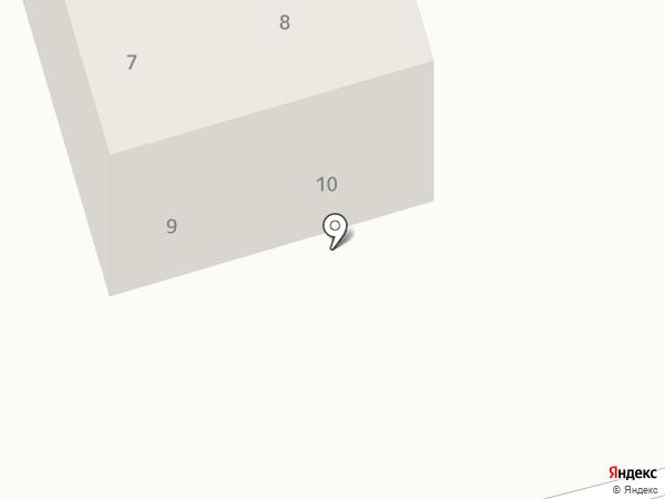 Парус на карте Дубового