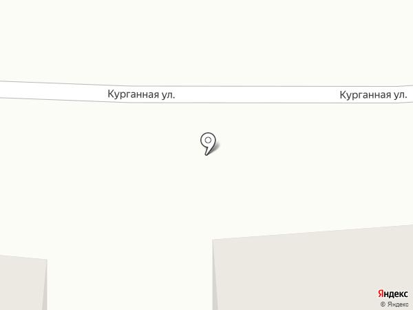 Строящийся коттеджный поселок на карте Дубового