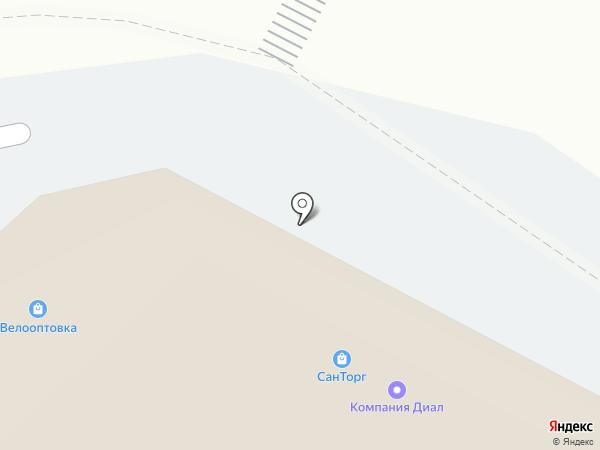 ПромТехСервис на карте Белгорода
