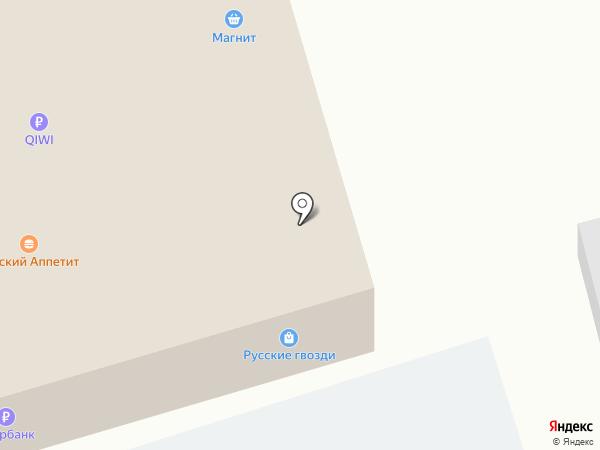 Русские гвозди на карте Дубового