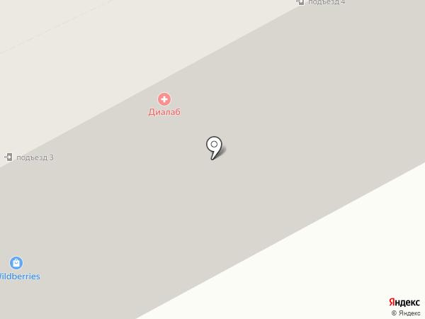 Бруния на карте Дубового