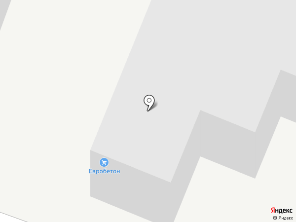 Компания по производству евробетона на карте Белгорода