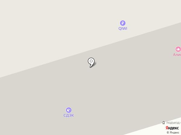 Улитка на карте Дубового
