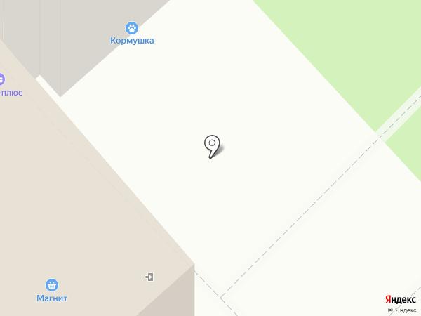 Ирбис на карте Белгорода