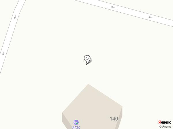 АГЗС на карте Северного