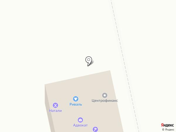 Центрофинанс Групп на карте Северного