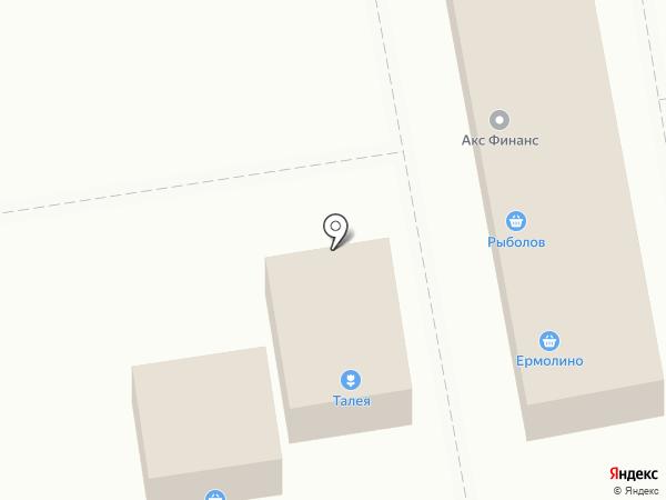 Талея на карте Северного