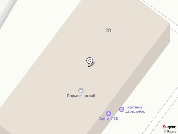 БелЭталонСтрой на карте Белгорода