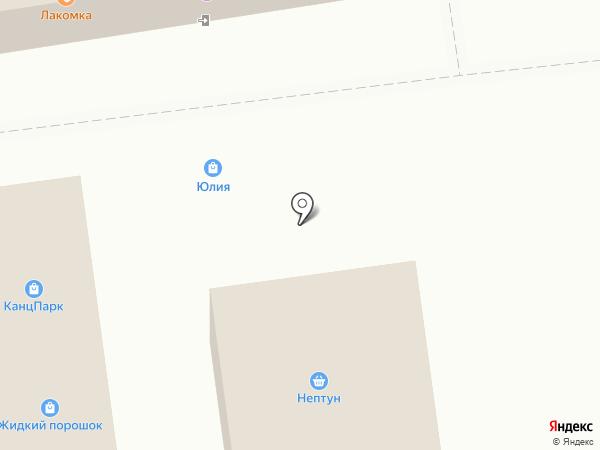 Юлия на карте Северного