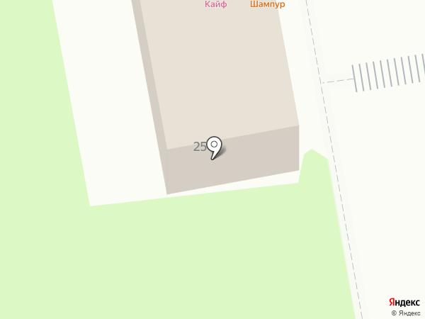 Кайф на карте Северного