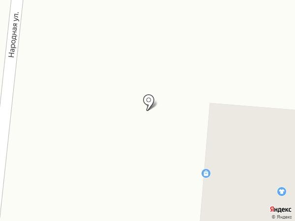 Ярослава на карте Северного