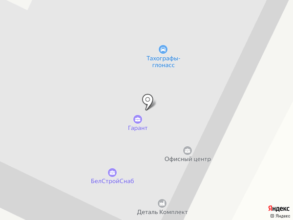 Строительная компания на карте Белгорода