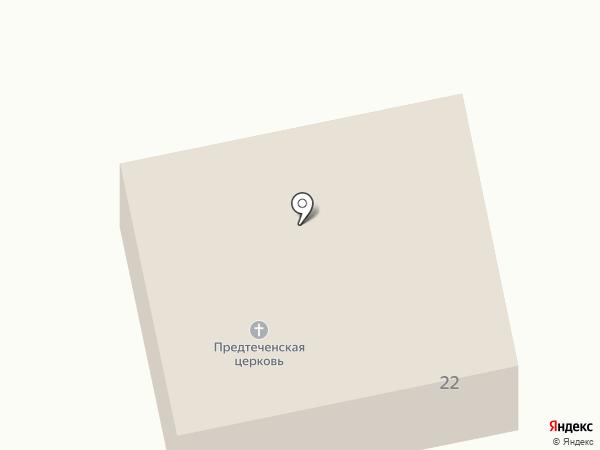 Храм Рождества Иоанна Предтечи на карте Северного