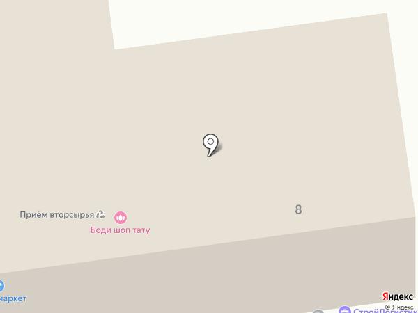 ЕВРОГРАФИКА на карте Белгорода