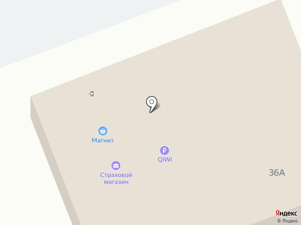 АВС на карте Таврово