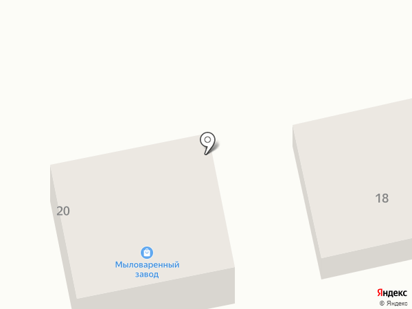 Белгородский мыловаренный завод на карте Белгорода