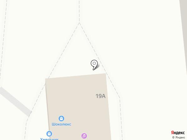 Хмельник на карте Белгорода