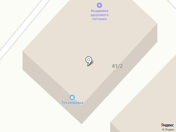 Техзаправка на карте Белгорода