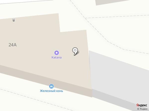 Пальма на карте Белгорода