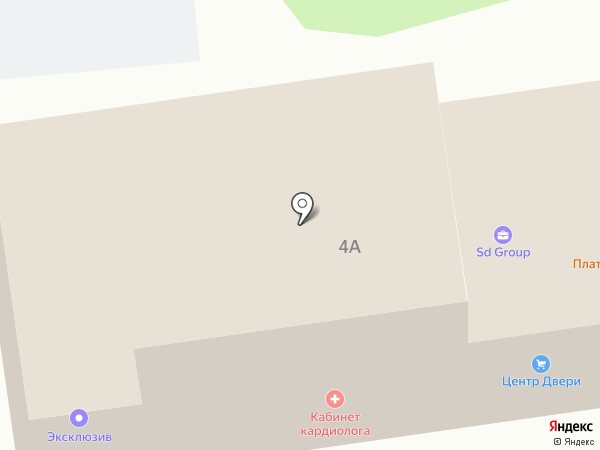 Строительная Группа Е на карте Белгорода