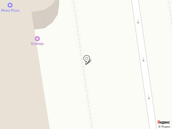 Амели на карте Белгорода