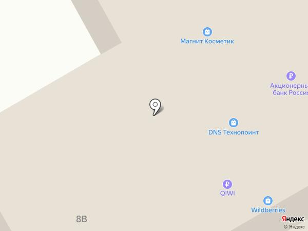 Волна на карте Белгорода