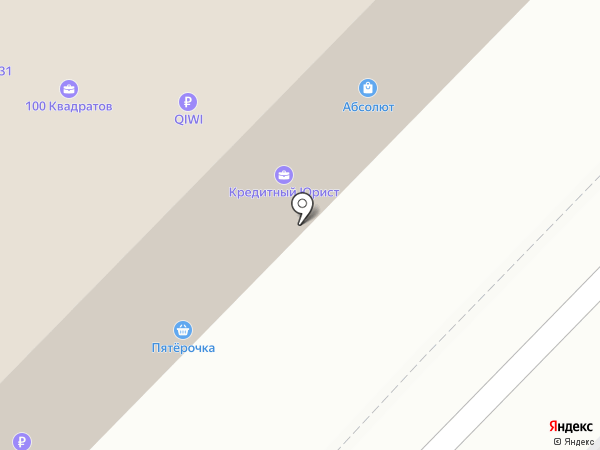 Абсолют на карте Белгорода