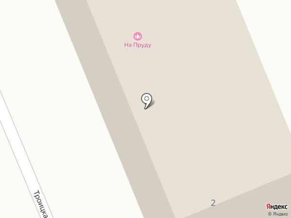 На пруду на карте Дубового