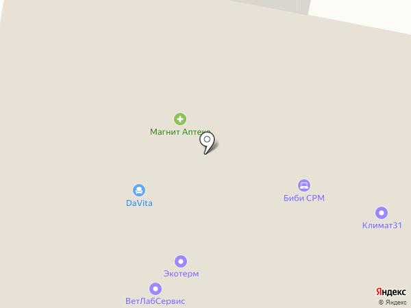 ОтиС на карте Белгорода