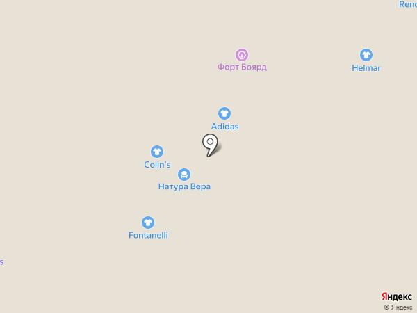 Fontanelli на карте Белгорода