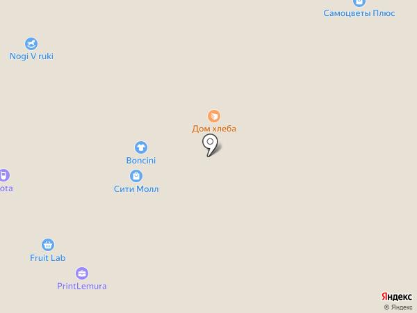 Дом Хлеба на карте Белгорода