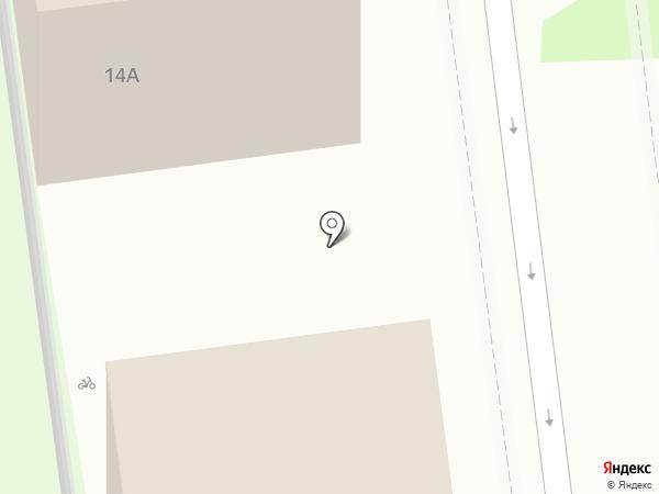 Атлант на карте Белгорода
